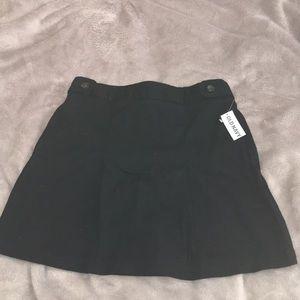 Old Navy Black Uniform Skirt